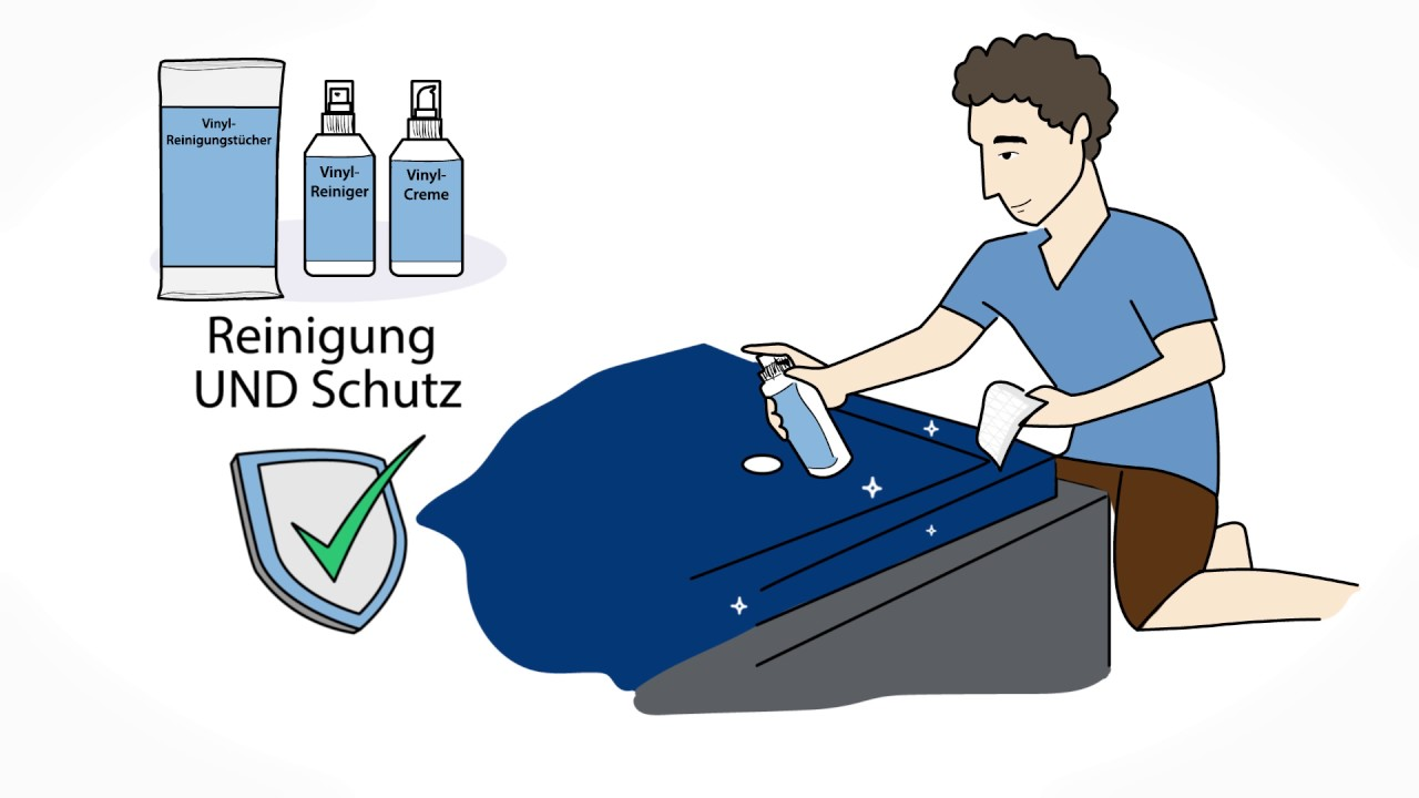 Sehr Dein Wasserbett - Pflege und Hygiene in 60 Sek erklärt - YouTube WL72