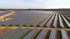 The birth of a solar farm in Halifax County, NC