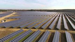 The birth of a solar farm in Halifax County, NC