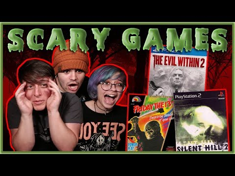 HORROR VIDEOGAMES Through the Ages!! (Let's Play)   Thomas Sanders