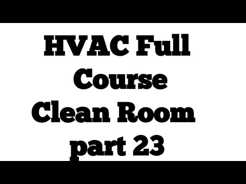 Clean Room part 23 ll HVAC interview Question and Answers