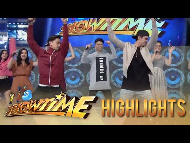 It's Showtime: James Reid's cute version of Moy-A dance