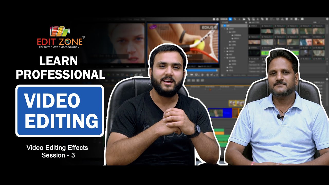 Download Learn Video Editing | Session - 3 | Video Editing Effects | Edit Zone