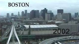 BOSTON 01 & 02. The Big Dig, South Boston 2002, The Biggest Construction Project in History