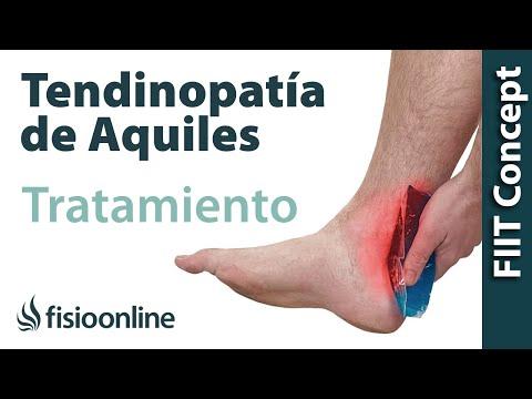 Tratamiento para la tendinitis de aquiles
