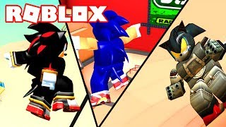 THE IMPOSSIBLE CIRCUIT OF SONIC SIMULATOR in ROBLOX