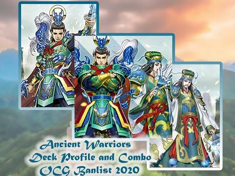 [Yu-Gi-Oh!] ANCIENT WARRIORS | Duel Replay | Deck Profile and Combo | OCG and TCG April 2020 Banlist