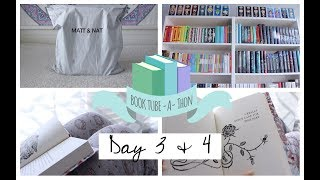 Day 3 And 4 Of Booktube A Thon 2018 Reading Vlog 005