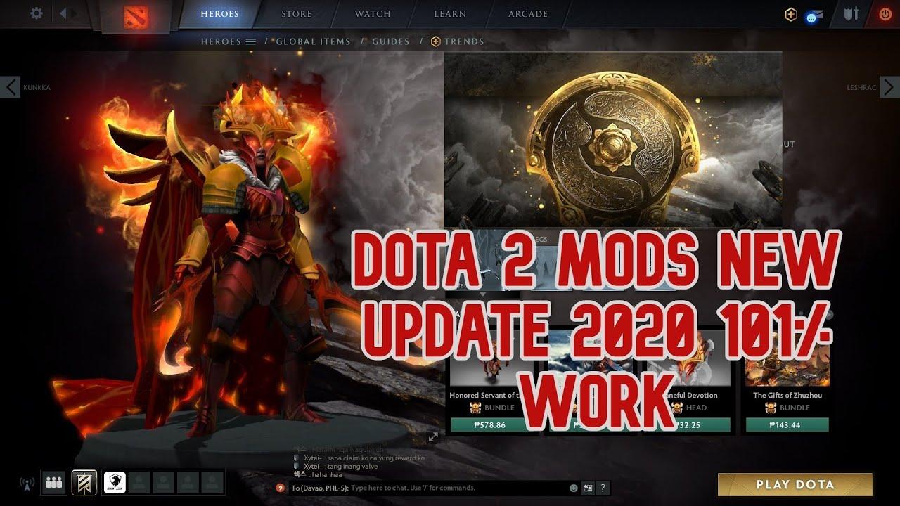 DOTA 2 MODS INSTALLER 2020 FREE SKINS - YouTube