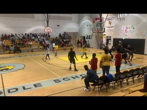 PEEPLES MIDDLE SCHOOL: Teachers vs Students Basketball Game!!!!