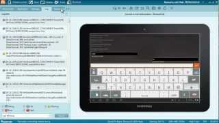 RemoteCall for Android : Remote Support and Control with a Samsung Galaxy Tab