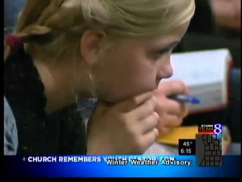 Church remembers youth pastor, baby son