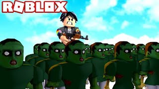 MY OWN EXERCISE OF ZOMBIE CLONES in ROBLOX😨😱