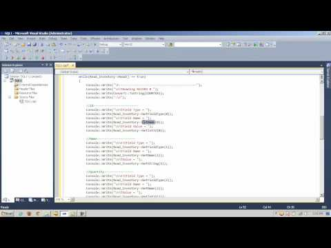 CLR and .Net OleDb SQL Database Access - Part 1 of 2