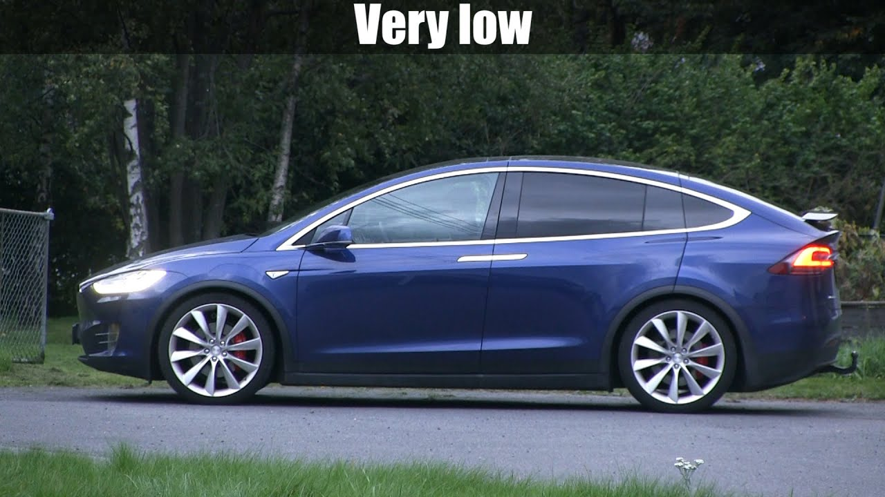 Model X Air Suspension Levels