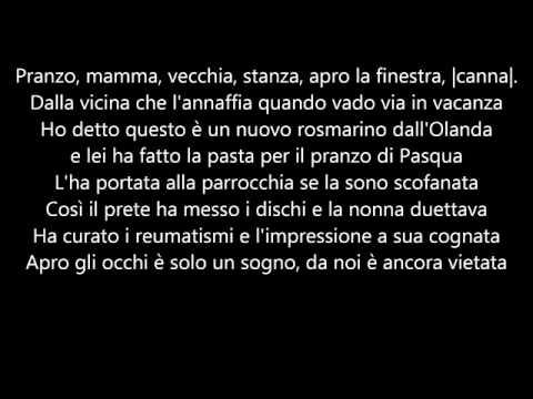 MARIA SALVADOR - TESTO - J-AX feat. IL CILE
