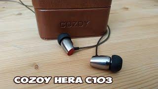COZOY HERA C103 - первый взгляд на наушники