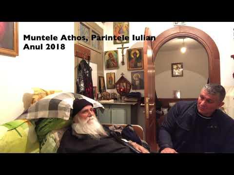 Pr. Iulian Prodromitul- cuvinte de folos -- Muntele Athos,  Anul 2018 - VASILE BRIA -Dr. Pain.