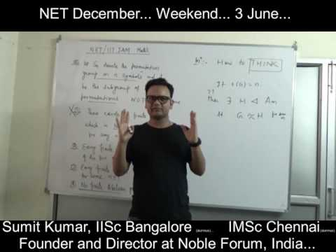 IIT JAM / NET Mathematics...Alternating Groups...