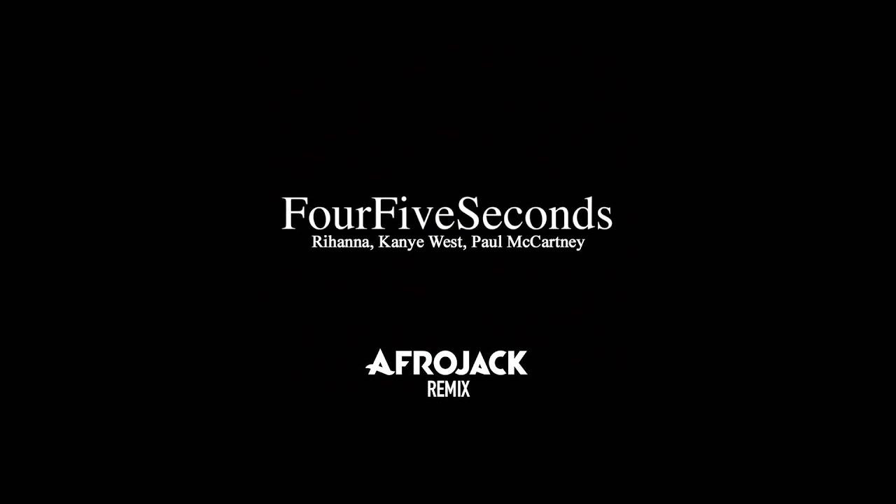 Download Rihanna, Kanye West, Paul McCartney - FourFiveSeconds (Afrojack Remix)