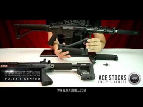 MadBull - ACE Skeleton Stock - Long - M4/M16
