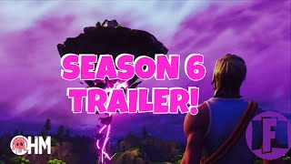 FORTNITE SEASON 6 TRAILER & THOUGHTS!-FORTNITE BATTLE ROYALE