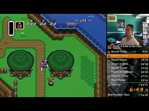 The Legend of Zelda: A Link to the Past Low% (1:37:48)