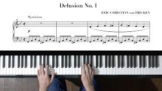 Eric Christian Delusion No.1 P. Barton, FEURICH 133 piano