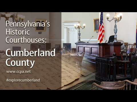 Cumberland County Courthouse Tour