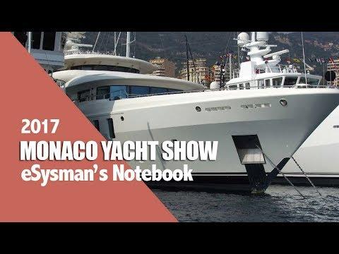 Monaco Yacht Show - Notebook