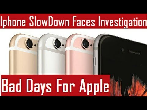 Apple iPhone Slow Down Faces Investigation in South Korea | Bad Days For Apple
