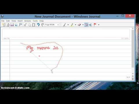 Genuine method - Convert handwriting to text without using any external software windows 8
