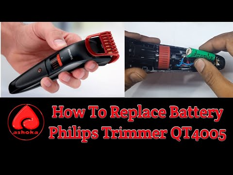 how-to-replace-battery-philips-trimmer-qt4005/qt4006-(hindi)