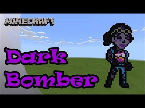 Correction for Minecraft: Pixel Art Tutorial and Showcase: Dark Bomber (Fortnite Battle Royale) thumbnail