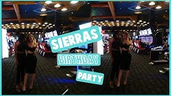 RIDING IN A LIMO?! SIERRAS BIRTHDAY PARTY!!!
