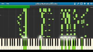 Mickey Mouse Theme Song (Synthesia HQ)
