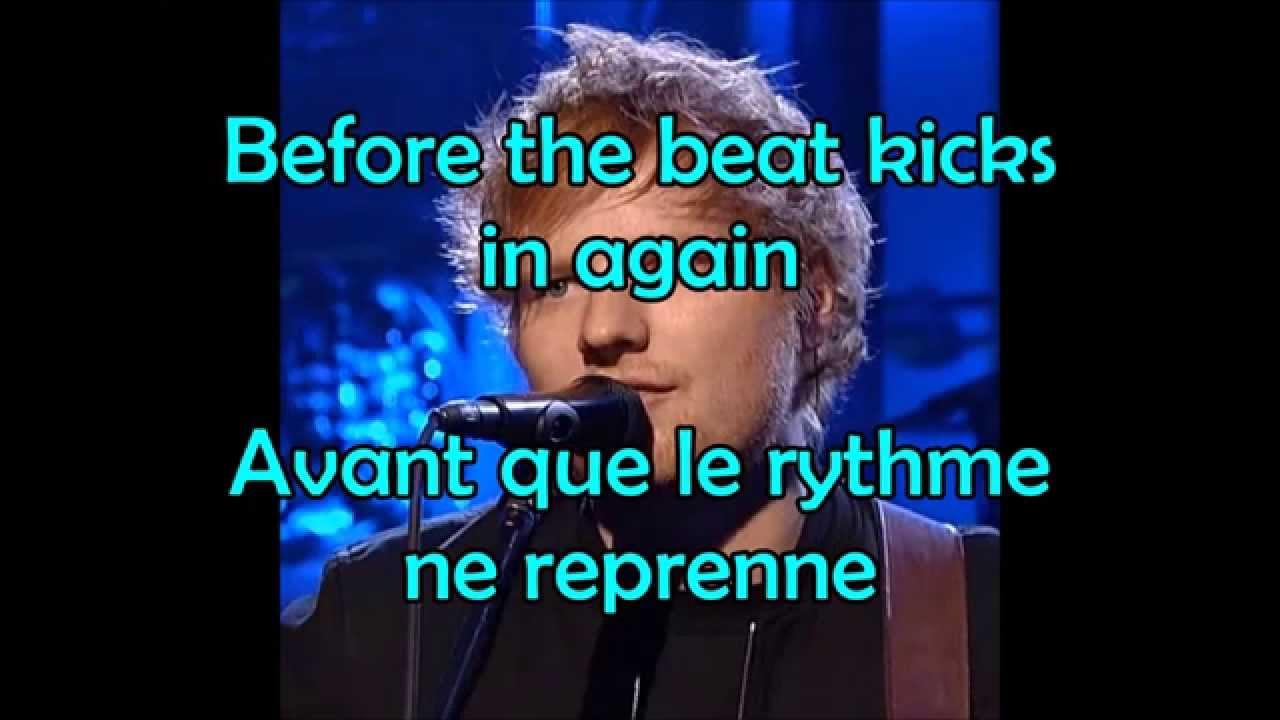 Ed Sheeran - Sing (lyrics + traduction française) - YouTube