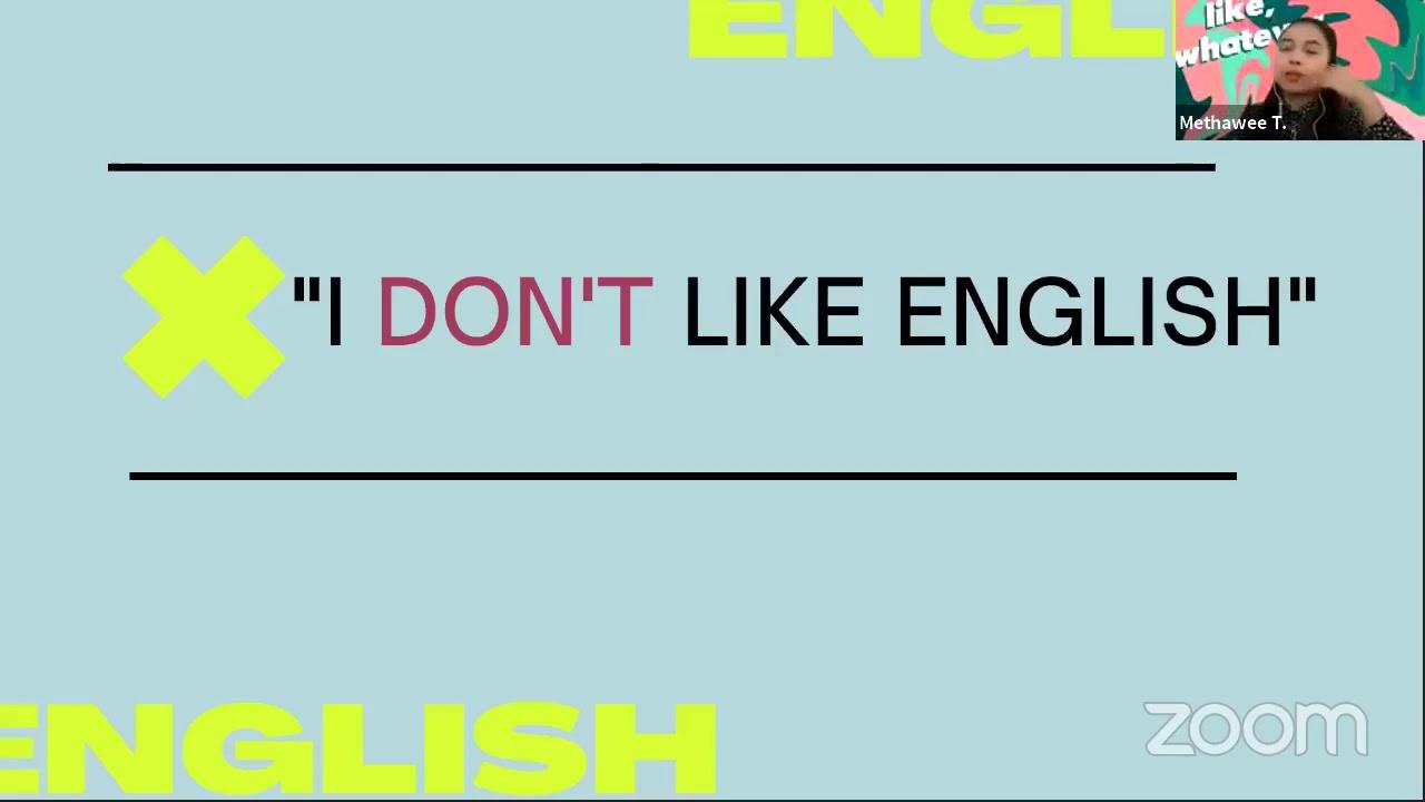 Free Homeschool Online Class #38: ทำไมภาษาอังกฤษถึงสำคัญ โดย ครูเมย์ The Buddy Language School