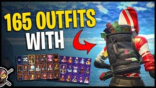 Swag Bag Back Bling on 165 Outfits | The Ace Pack - Fortnite Cosmetics