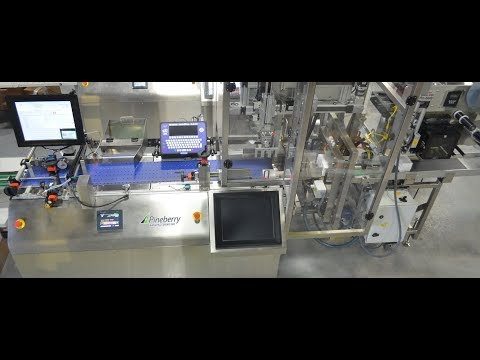 CartonTrac Serialization and Aggregation System for Pharmaceutical Packaging