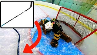 "3 on 3 GoPro Hockey | ""TRUE A6.0 Stick"""
