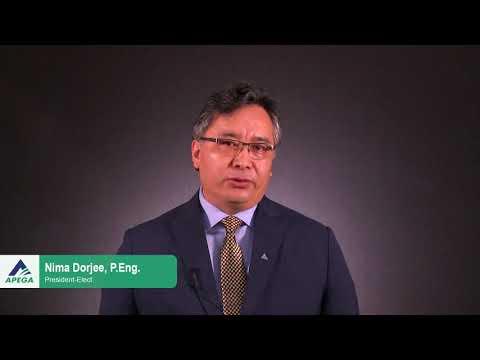 APEGA Election 2018 - President-Elect Nima Dorjee, P.Eng.