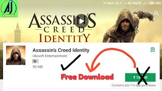 [Hindi/urdu] How to free download Assassin's​ creed identity for any Android