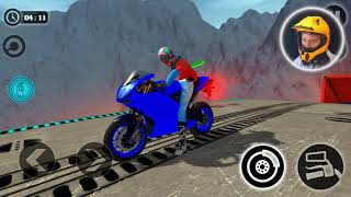 Final Level of Impossible Motor Bike Tracks 3D - Motor Cycle Games - Dirt Bike Racing Games