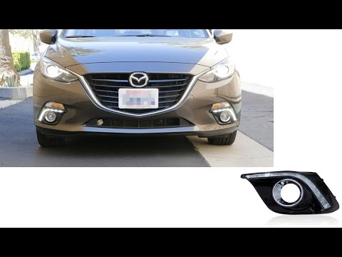2017 And Up Mazda3 Led Daytime Running Lights