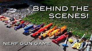 Behind the Scenes | Nerf COD Gun Game!