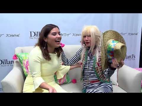 DAYTIME AT NINE: Celebrity Fashion Icon BETSEY JOHNSON from NYC w/ TV Host Danielle Banda