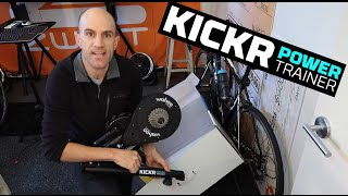 Wahoo Kickr Smart Trainer Setup For Beginners (Indoor Cycling)