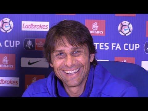 Antonio Conte Full Pre-Match Press Conference - Arsenal v Chelsea - FA Cup Final