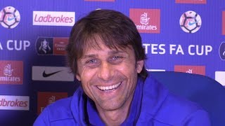 Antonio Conte Full Pre-Match Press Conference - Arsenal v Chelsea - FA Cup Final